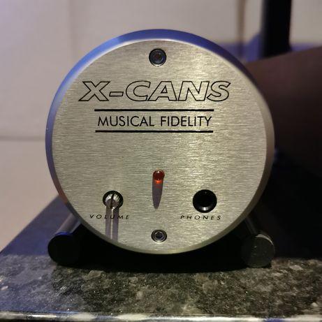 Musical Fidelity x-cans wzm.słuch.lampowy