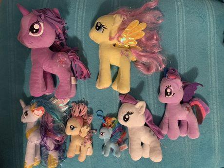 Pluszaki My little pony MLP 7 szt
