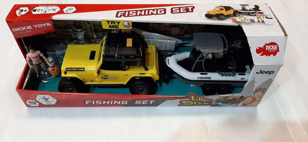 Zabawka Jeep Fishing SET - Lombard Madej Gorlice -