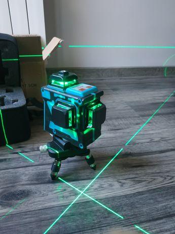 Nowy samopoziomujacy laser krzyżowy HILDA 3D 12 linii poziomnica