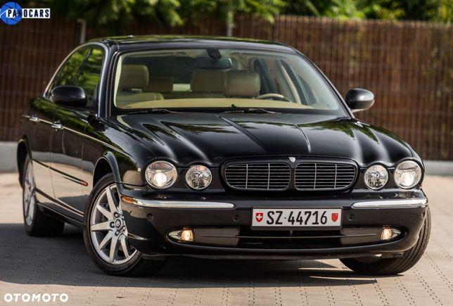 Jaguar XJ XJ8 4.2 V8 Czarny ŚLICZNY Jasne Skóry OPŁACONY