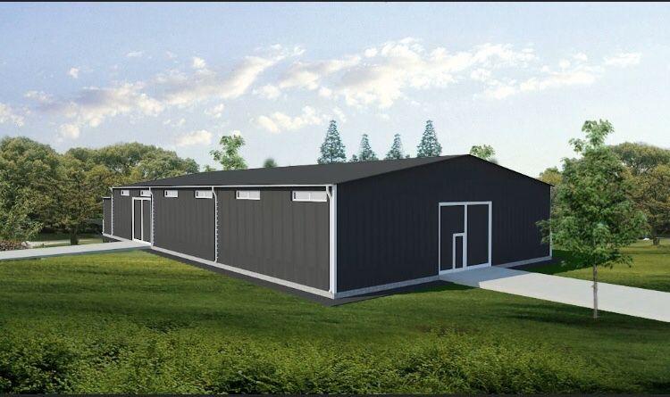 Ангары, склады, цеха, зернохоанилища, СТО быстровозводимые здания Житомир - изображение 1