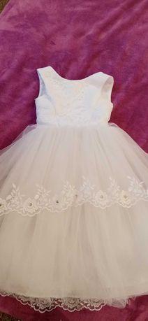 Плаття, платье, платтячко пишне новорічне для сніжинки
