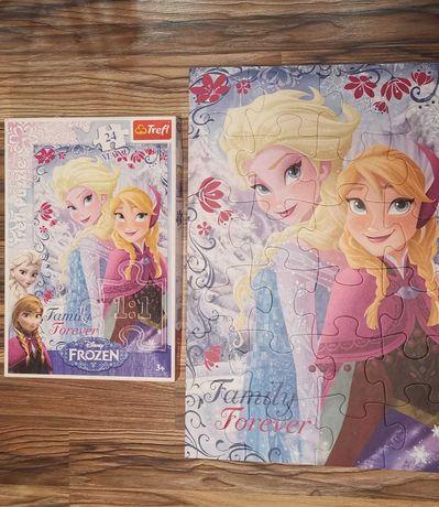 Puzzle kraina lodu Elsa, Anna