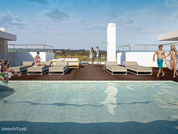 Magnifico Apartamento T2 em Cabanas de Tavira, com vista Mar