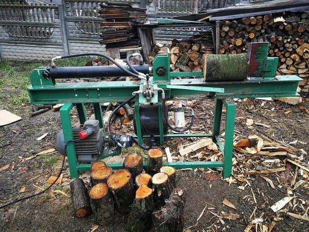 Łuparka hydrauliczna do drewna Łuparka do opału