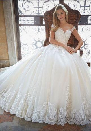 Zjawiskowa suknia ślubna Mori Lee by Madeline Gardner 2889