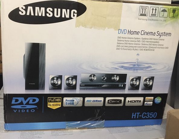 Sistema de DVD Home Cinema Samsung HT-C350 Novo