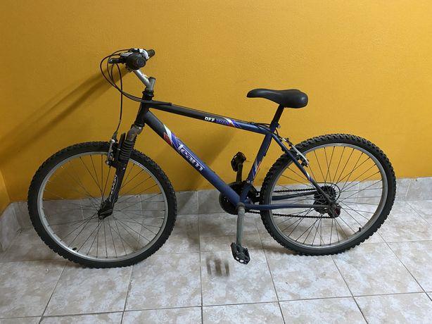 Bicicleta com mudanças