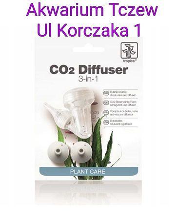 Tropica 3 in 1 Dyfuzor co2, licznik  babelków, zawór zwrotny i dyfuzor