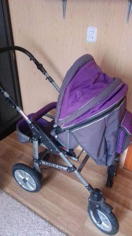Wózek 3 w 1 spacerowka, gondola, nosidełko