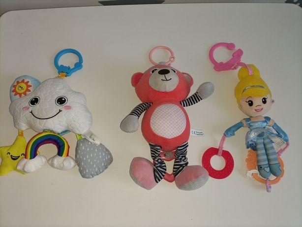 Zabawki dla niemowląt, zawieszki do wózka z pozytywką, Chicco, Canpol