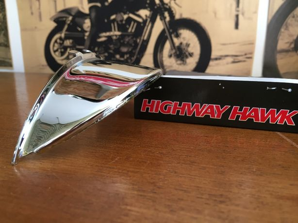 Pala pestana para farol Highway Hawk chopper bobber custom
