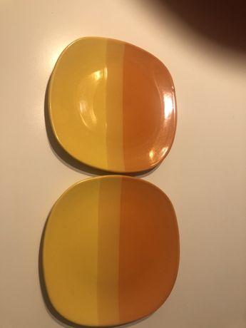 Żółte talerze Ikea