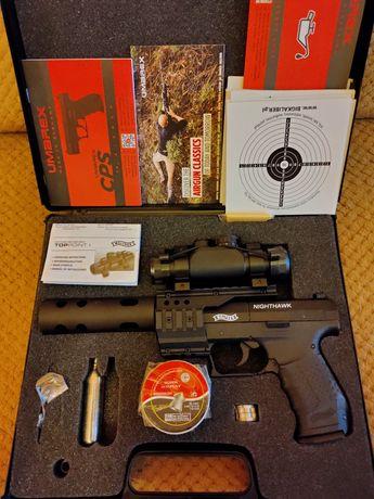 Pistolet wiatrówka Walther Nighthawk 4,5mm .
