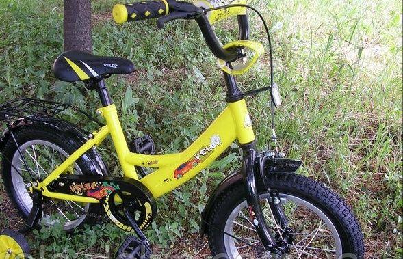 """Продам детский велосипед """"Veloz 1401""""с 14 дюймовыми колесами"""