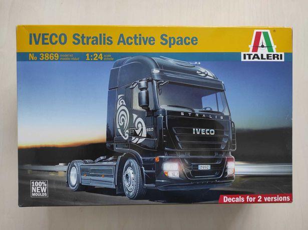 Сборная модель грузовик авто 3869 ITALERI IVECO Stralis Active Space
