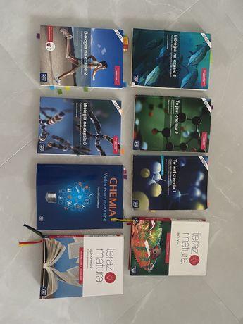 książki rozszerzenie chemia, biologia liceum
