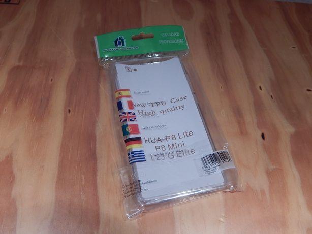 HUAWEI P8 Lite - Capa de protecção transparente - NOVO a estrear