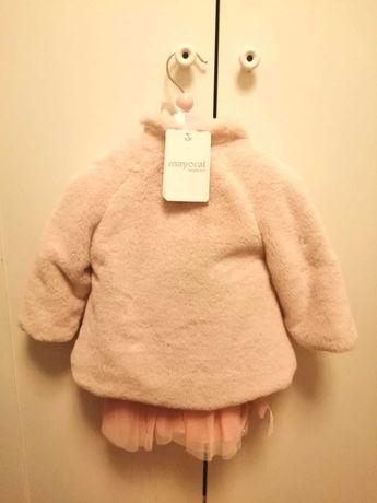 Vestido e casaco bebé Mayoral