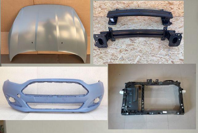 Капот, крило, бампер, телевізор Ford Fiesta 13-, фієста