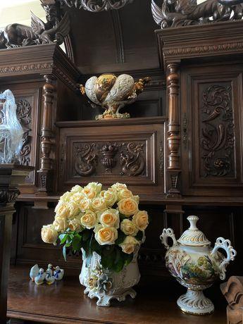 Интерьерная посуда, Каподимонте,фарфор,керамика,ручная работа,Италия