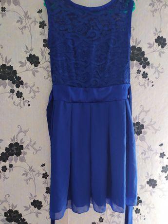 Синя сукня, синє плаття, святкова сукня