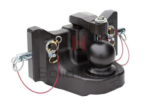 Zaczep kulowy K80 311mm Oryginał Rockinger, Fendt, Massey, Claas,