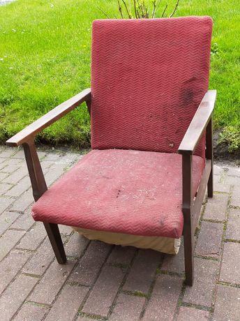 Stary fotel Prl , vintage
