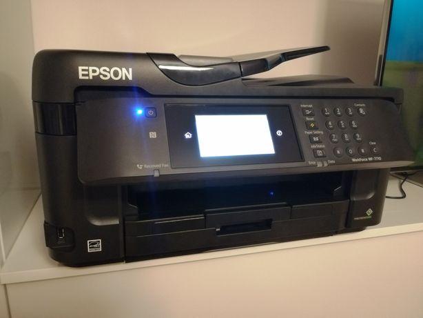 Urządzenie wielofunkcyjne, EPSON WF-7710DWF, drukarka A3, A4