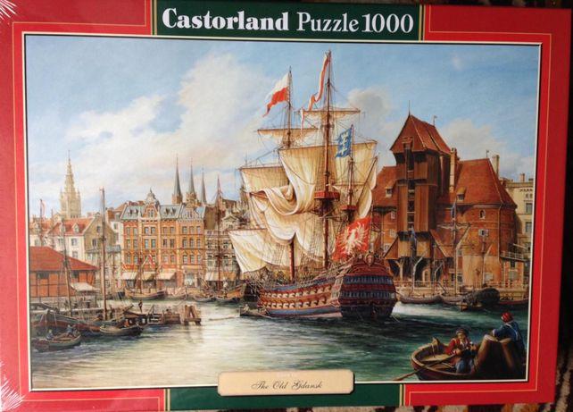 puzzle 1000 Castorland zielona seria nowe, zafoliowane