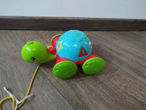 Zabawka, żółw, Fischer Price