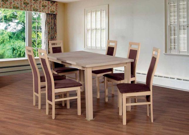Stół + 6 Krzeseł Dostępne od ręki RATY Grudziądz Gniew Iława Kisielice