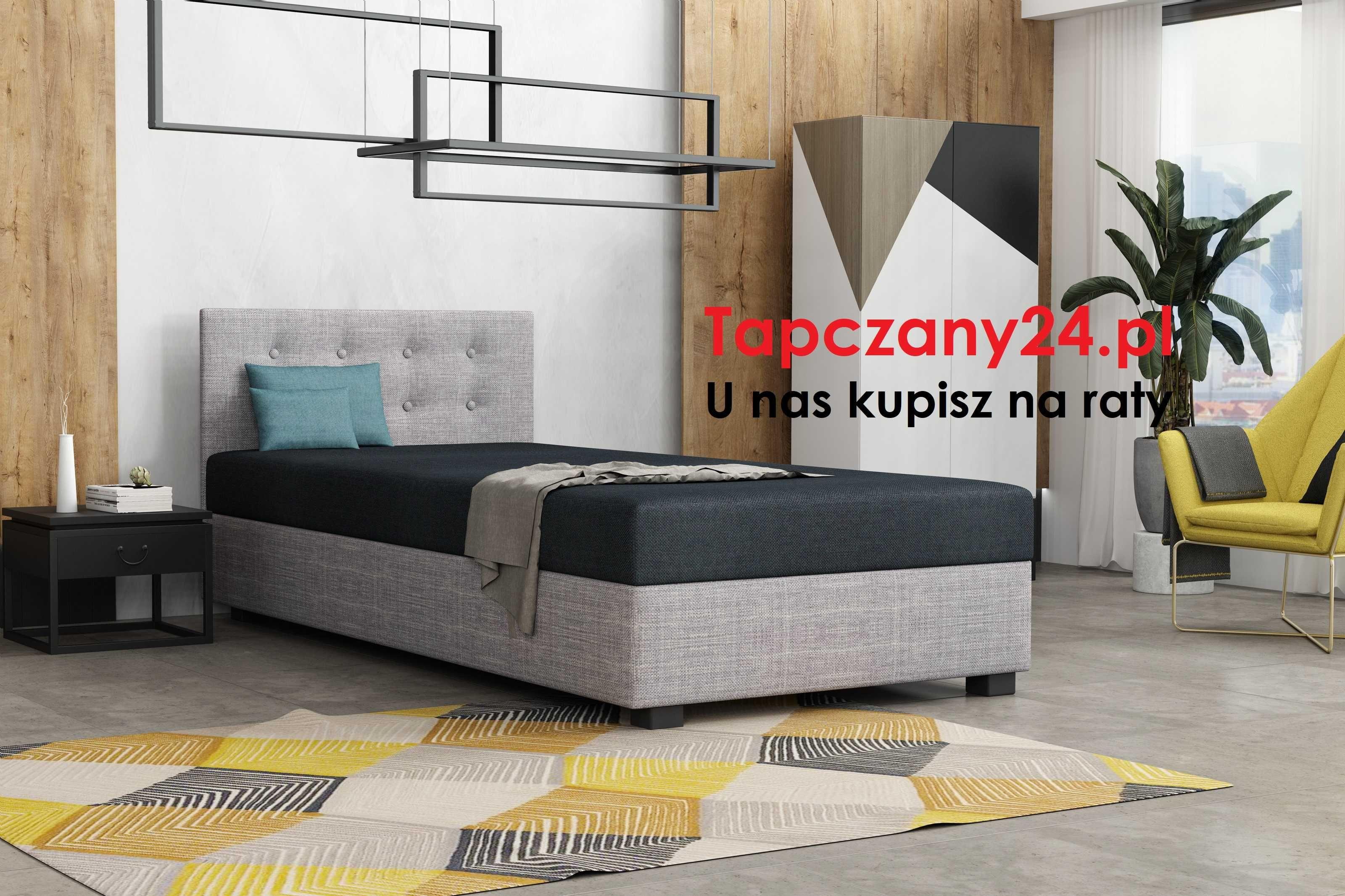 Łóżko młodzieżowe dziecięce Tapczan jednoosobowy +pojemnik 80/90/100
