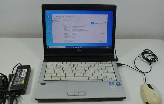Fujitsu Lifebook – 4 ядра core i5 (3.2Ггц)/8ГБ/SSD 120ГБ/АКБ до 5 ч