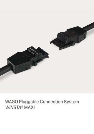 Złącze elektryczne WAGO winsta Gniazdo+Wtyk 5p Trzy komplety