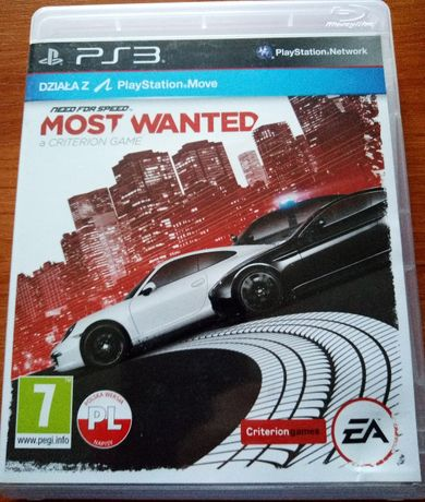 Need For Speed Most Wanted PL PS3