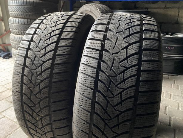 зима 235\55\R17 2017г 7,9мм Dunlop SP Winter Sport 5 2шт шины шини