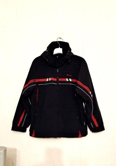Куртка-реглан с капюшоном чёрная на флисе р50 на школьника молодёжка Винница - изображение 1