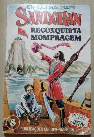 Sandokan- Reconquista Mompragem- única edição portuguesa completa
