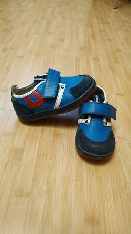 Кожаные туфли для мальчика Шалунишка