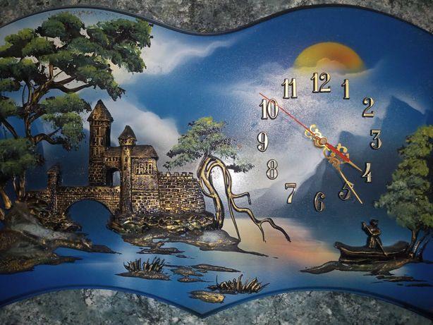 Zegar na ściane 3 D
