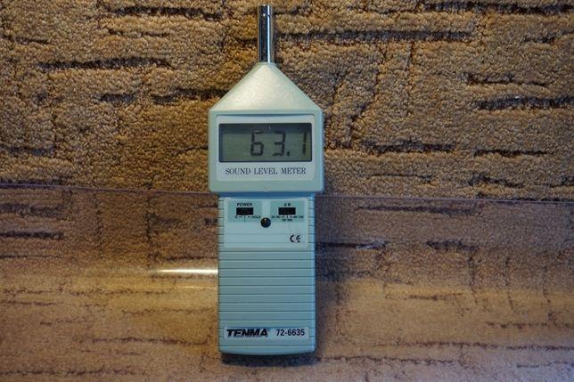 miernik poziomu hałasu Tenma 72-6635
