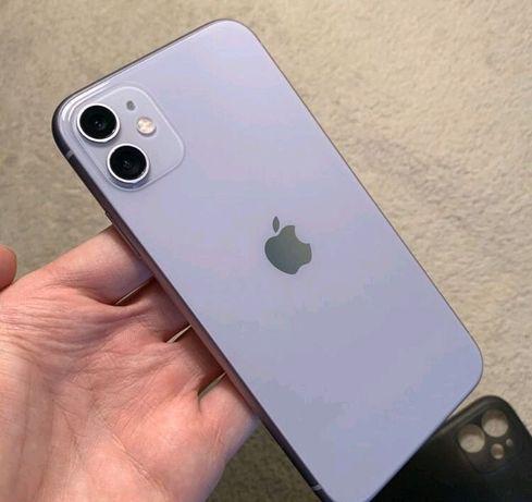 ОБМЕН iphone 11 purple 128gb на 11 black 128