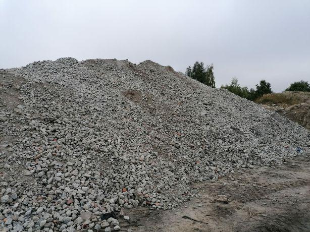 Kruszywo betonowe,  przekrusz betonowy