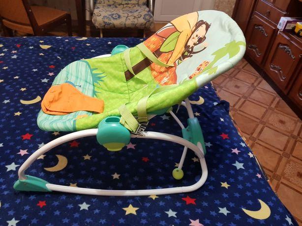 Кресло-качалка детское от рождения до 6 месяцев