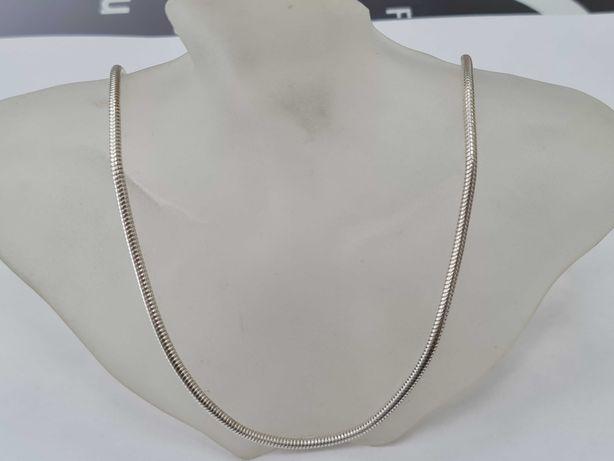 Srebrny łańcuszek damski/ Żmijka/ Srebro 925/ 26.6 gram/ 80 cm/ Pełny