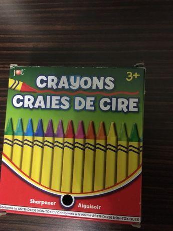 Восковые Карандаши Crayola