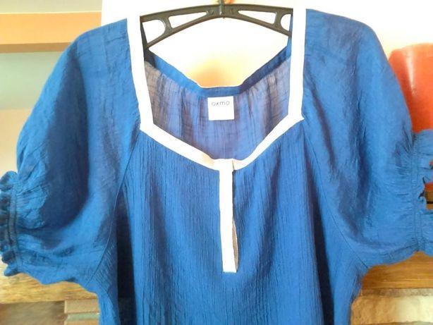 Kobaltowa Bluzka Tunika