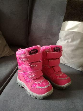 Buty/ Śniegowce dziewczęce 22